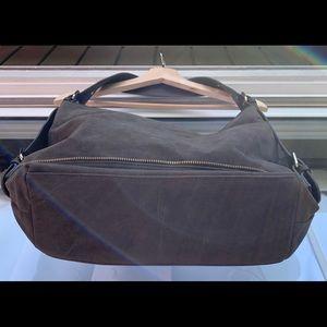 Forever 21 Bags - Forever 21 shoulder bag, Olive drab faux suede